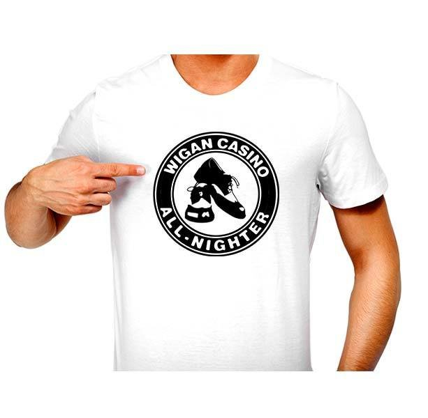 T-Shirt - N/Soul Wigan Shoe Patch