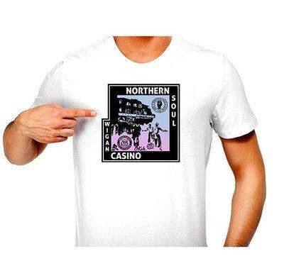 T-Shirt - N/Soul Wigan Casino Club B