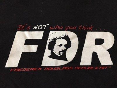 FDR Republican Black T-shirt