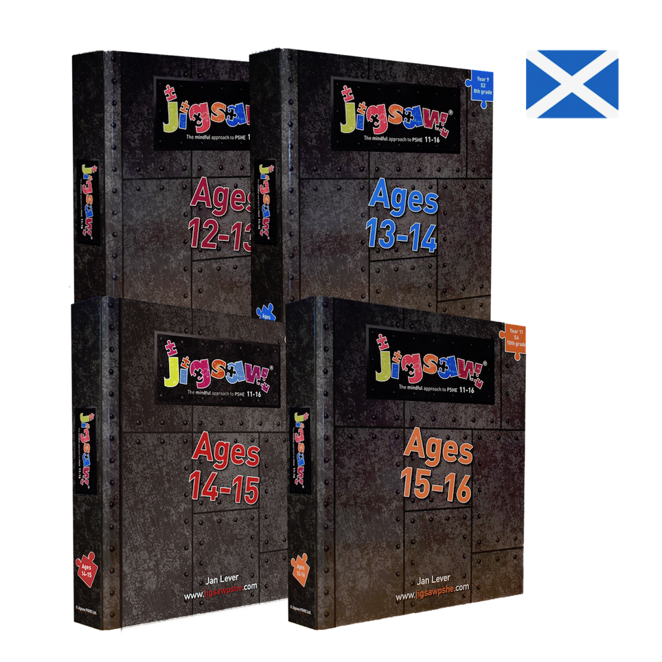 Jigsaw 11-16 Full Set: Scotland for Ages 12-16 (S1-S4)
