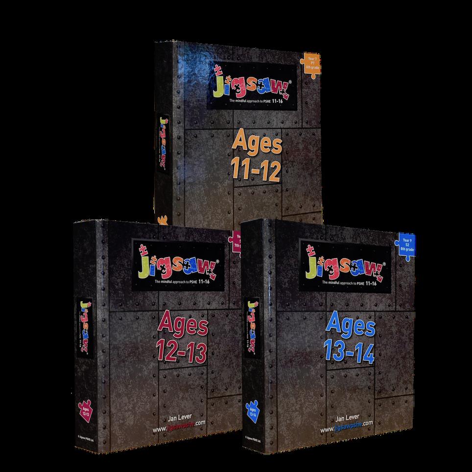 Jigsaw 11-16 KS3 Set for Ages 11-14 (Y7-Y9)