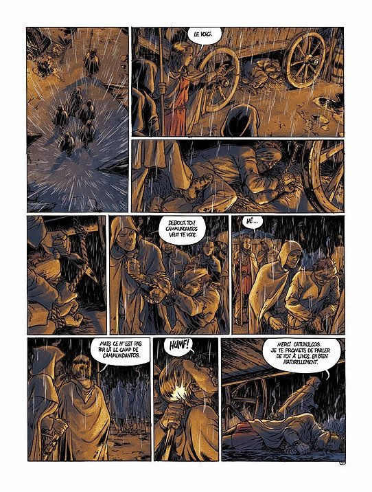 Le Casque d'Agris, Tome 2 : L'or des senons