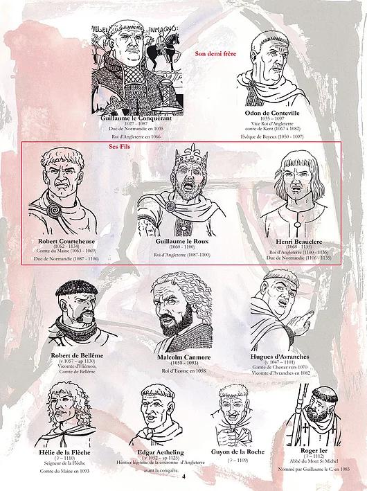 Les Fils de Guillaume, Tome 1 : L'Héritage