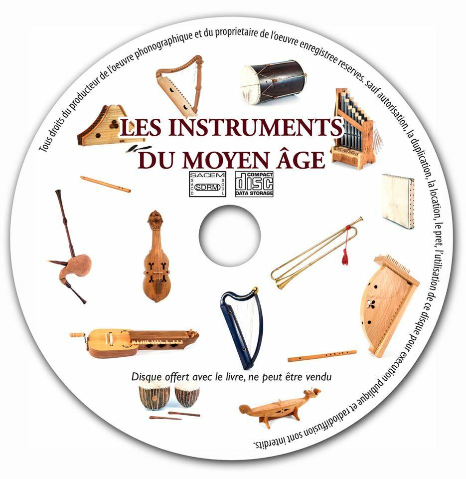 Les instruments de musique au Moyen Age