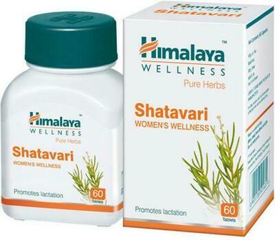 Shatavari Pills (60 pcs)