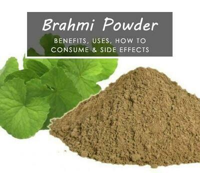 Brahmi powder ( Gotu Kola, Buabok)