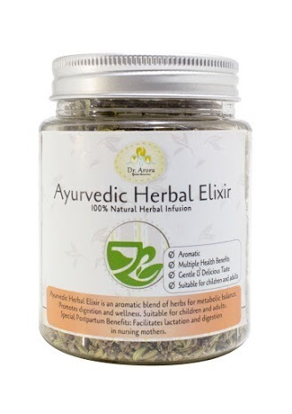 Ayurvedic Herbal Elixir (Metabolic Balance Herbal Tea)
