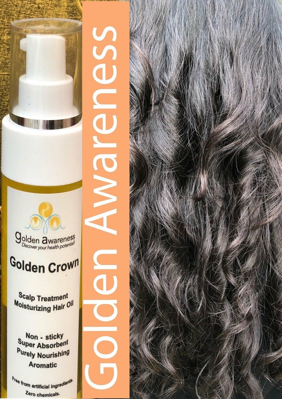 Golden Crown Scalp Treatment & Moisture