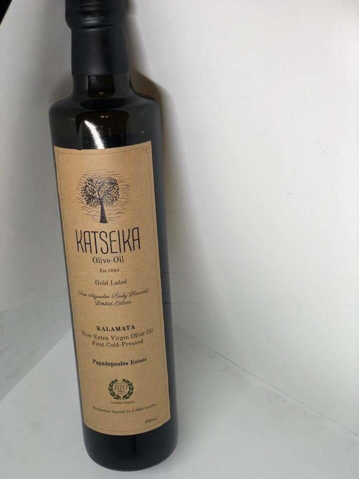 Olive Oil Ultra Premium (Katseika, Greece)