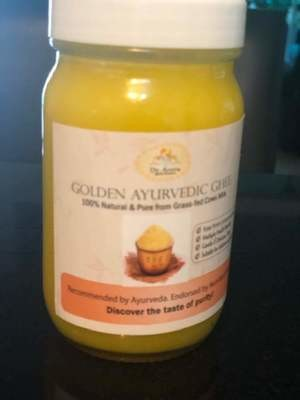 Golden Ayurvedic Ghee (240cc, glass)