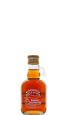 One - 250ml (8.5 fl oz, slightly more than a half pint) Glass Jugs of Pure Vermont Maple Syrup