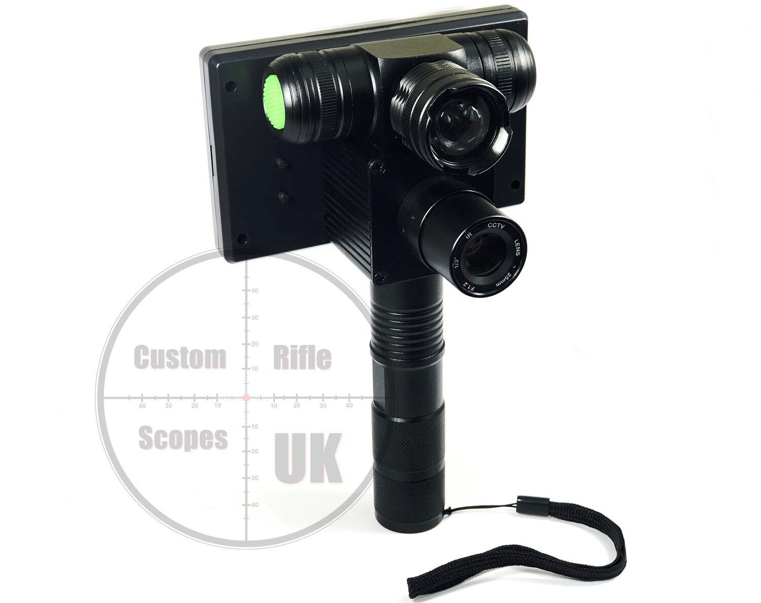 """Night Vision spotter 25mm lens and 4.5"""" with IR torch"""