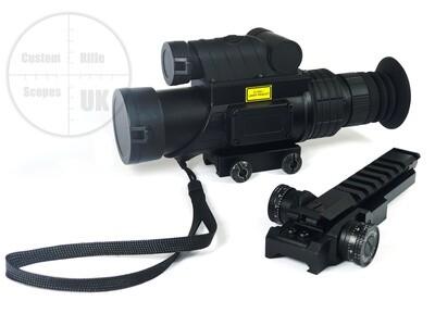Rangerscope LRF, the 10x32 IR laser rangefinder scope 750m