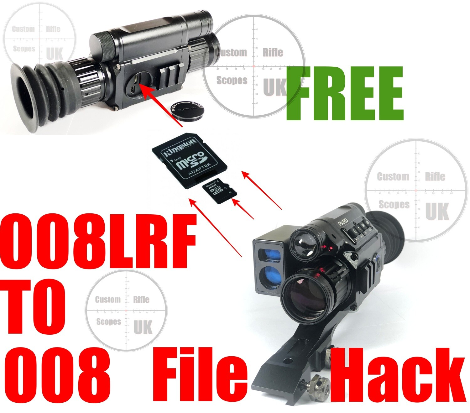 PARD NV008LRF to NV008 Hack, FREE software upgrade !