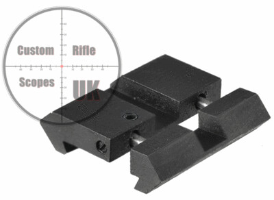 Dovetail to Picatinny UTG rail adapter ( DTP )