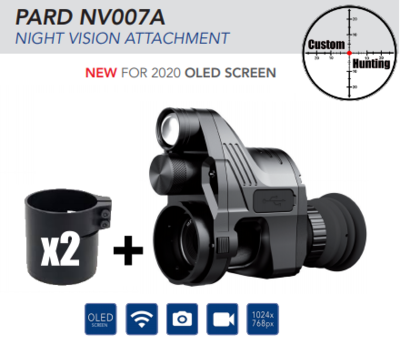 PARD 007A night vision add-on 16mm ( New version 2020 )