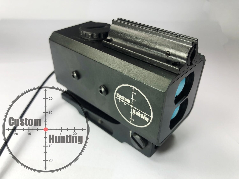 Mountable laser rangefinder 5-800m, NV compatible, MK V9.L
