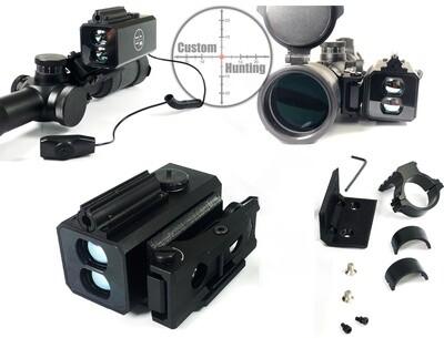 Mountable laser rangefinder 5-800m shock/wproof, NV compatible, MK V9L (full kit)