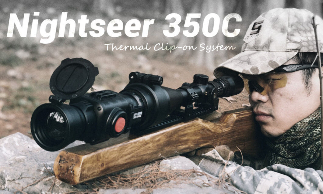 Thermal riflescope clip-on & monocular