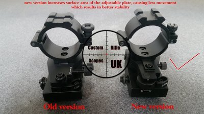 Adjustable torch/laser designator mount, can zero to your scope ( new design )