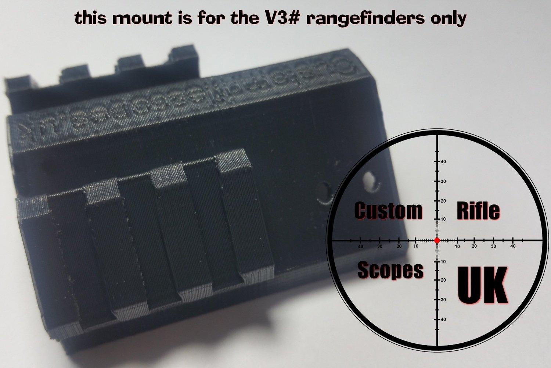 Mount system L bracket only ( for the V3 scope mountable rangefinder only )
