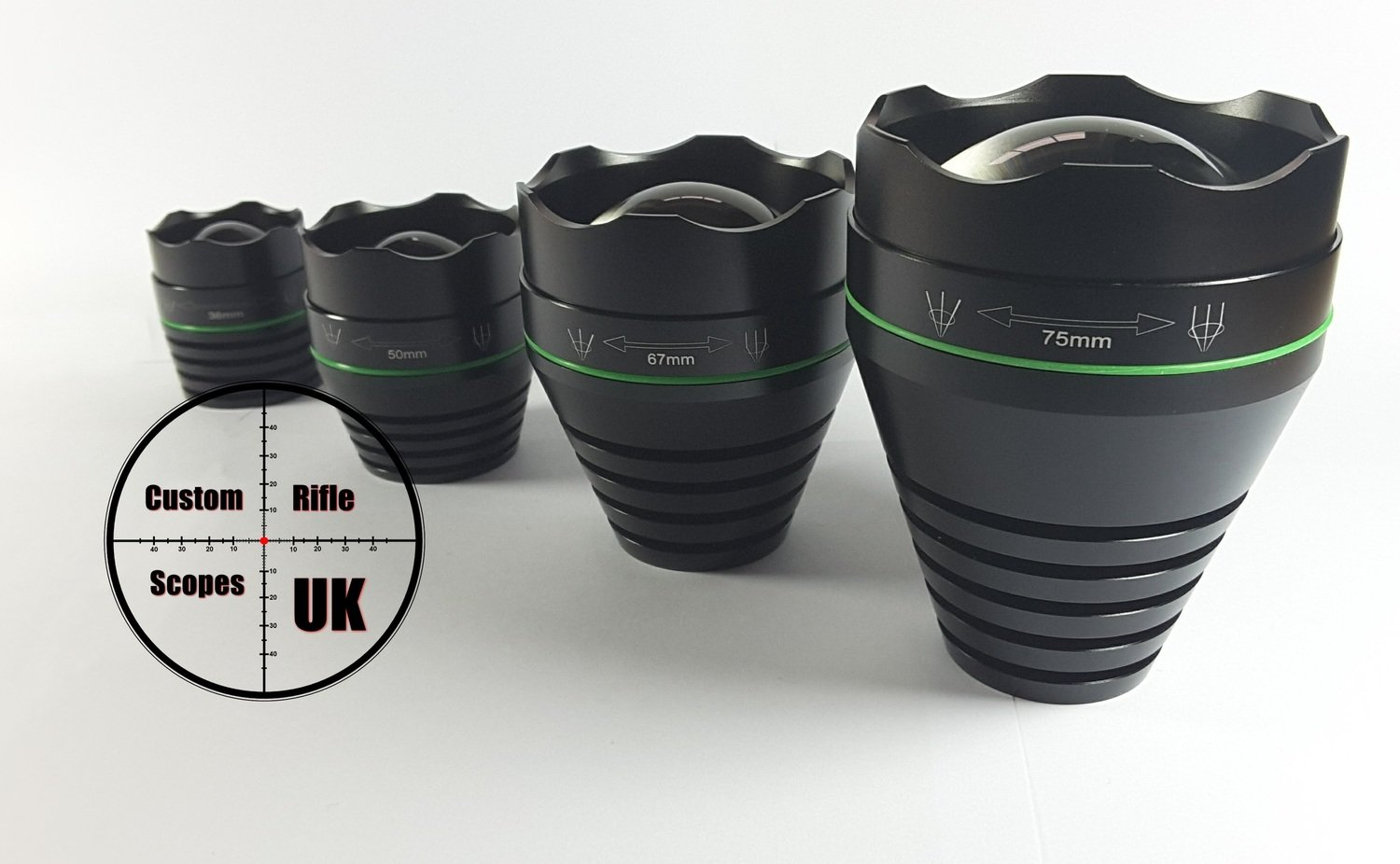 T67mm lens head for our T range torch