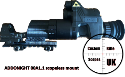 ADDONIGHT 00A1.1 scopeless mount system ( fits all NV007 variants )