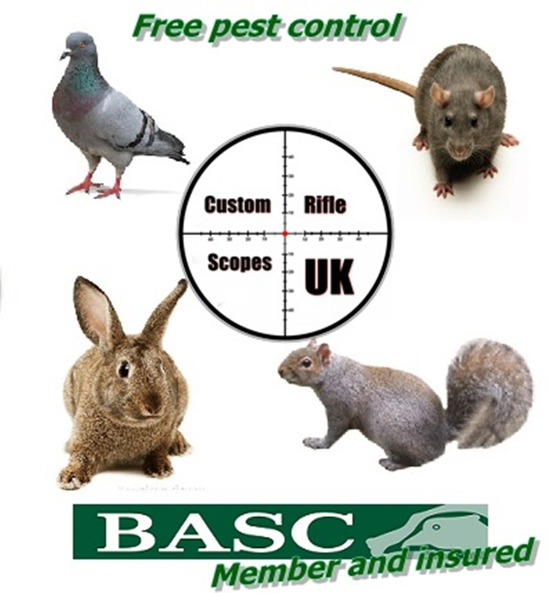 Free Vermin control & free security done on farm land (East Kent area)