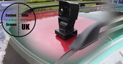 Therm app vehicle mount system ©, pan/tilt 360 degree remote control system for your therm app.