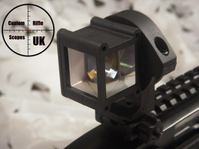 Right Angle sight, 360 deg mirror twist adding tactical advantage to your setup