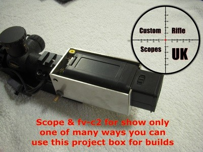 VF-2C viewfinder project box ( now 3d printed )