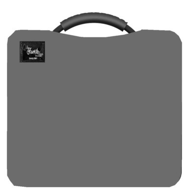 Charcoal Gray Travel Chest