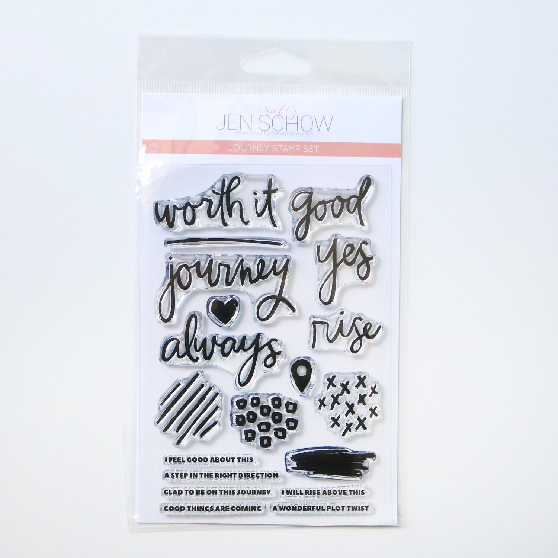 Journey 4x6 Stamp Set