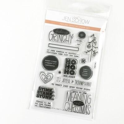 Feeling Grinchy 4x6 Stamp Set