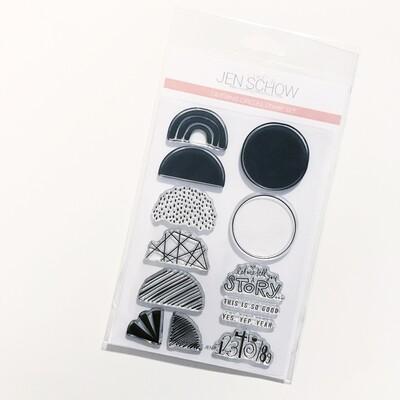 Layering Circles 4x6 Stamp Set