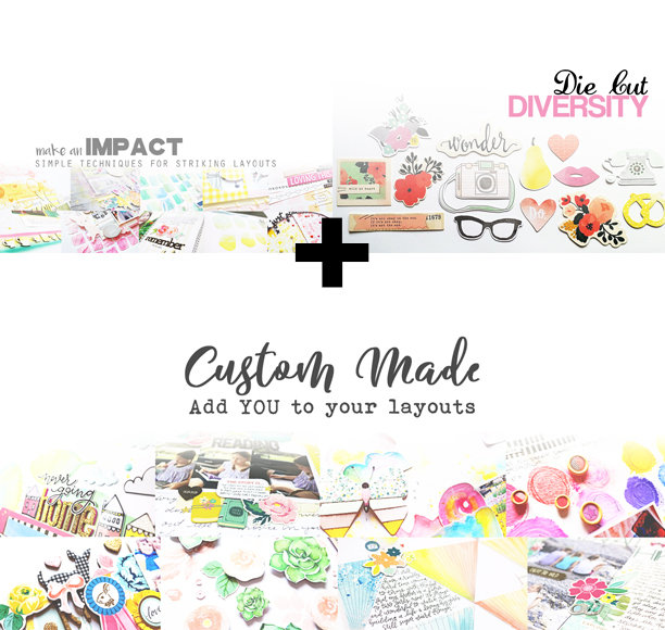 Class Bundle: Make an Impact, Die Cut Diversity, and Custom Made