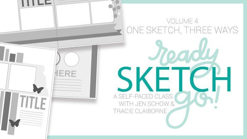 Ready, Sketch, Go! Volume 4: One Sketch, Three Ways