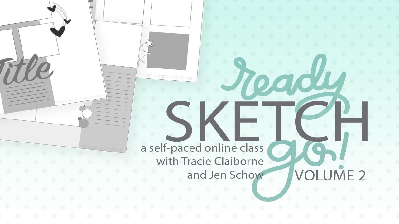 Ready, Sketch, Go! Class - Volume 2
