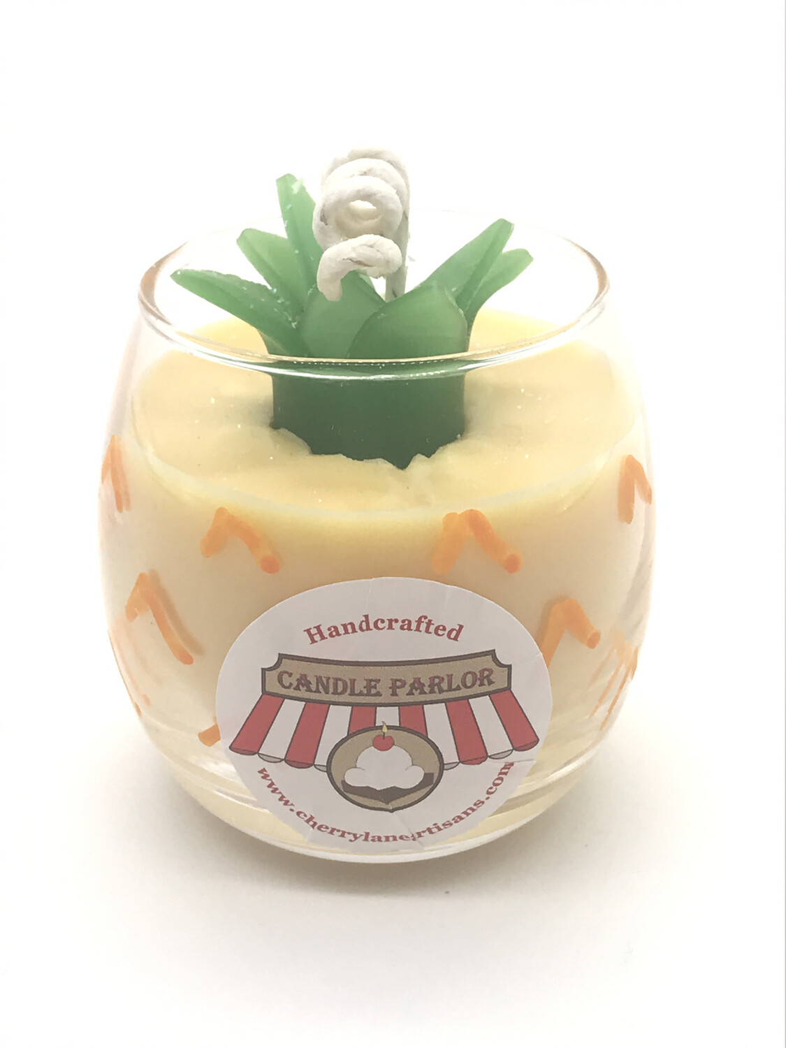Pineapple Scented Candle, Globe