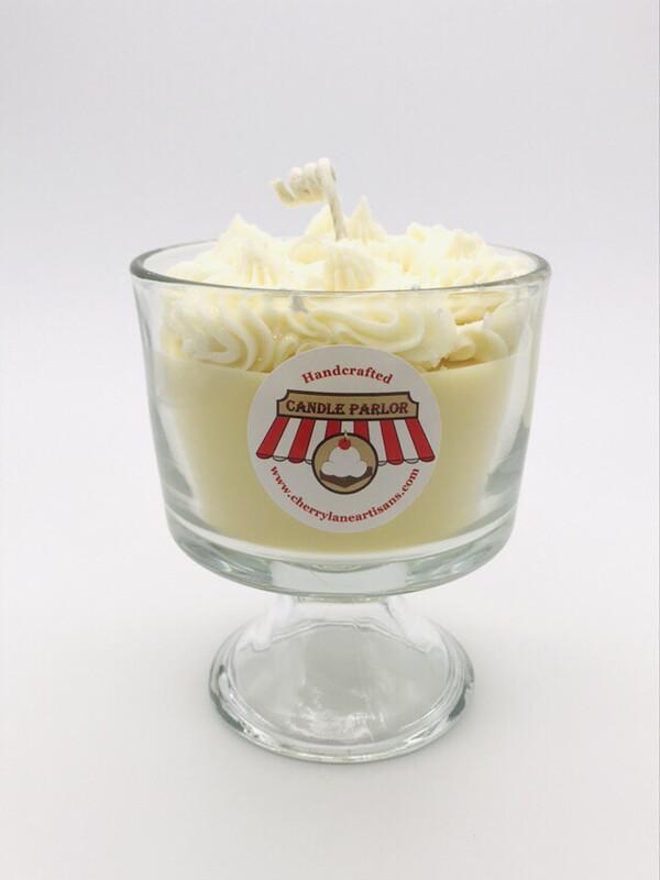 Lemon Scented Ice Cream Candle, MD Sundae