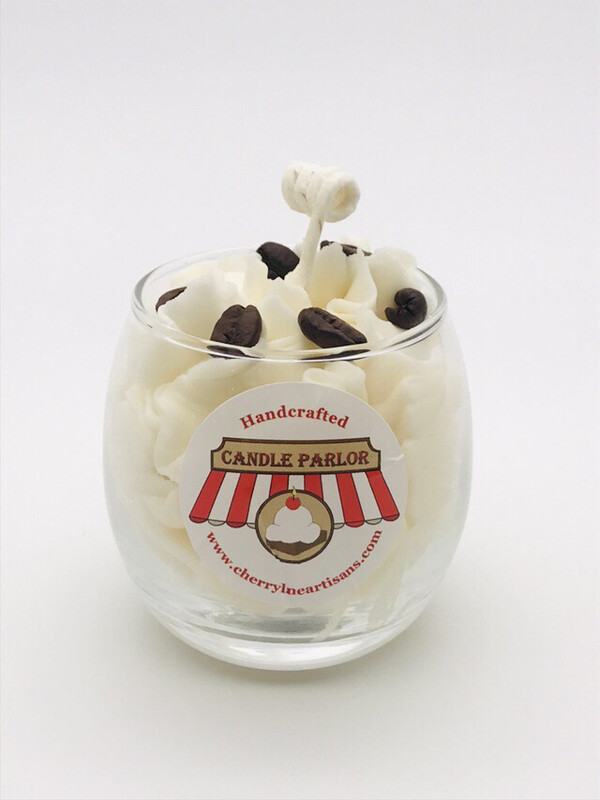 Coffee Scented Candle, Globe