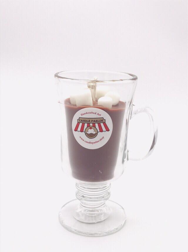 Hot Cocoa Scented Mug Candle, Medium