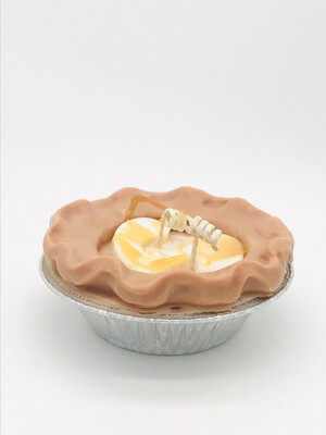 """Apple Scented Pie 5"""" Candle"""