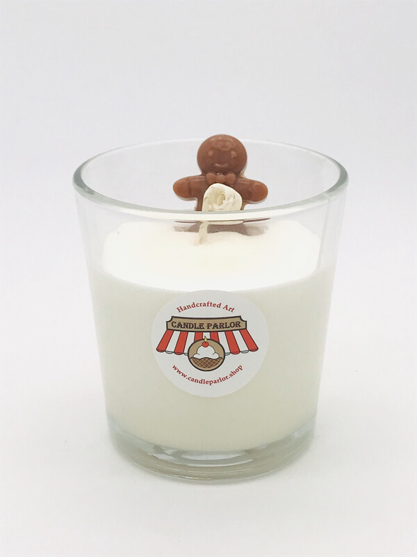 Gingerbread Scented Cookie & Milk Tumbler Candle
