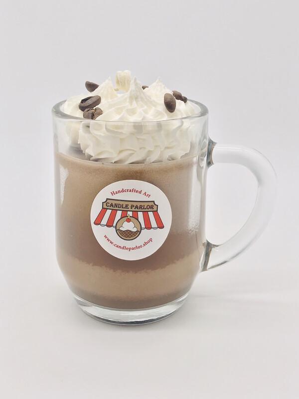 Coffee Scented Mug Candle, Medium