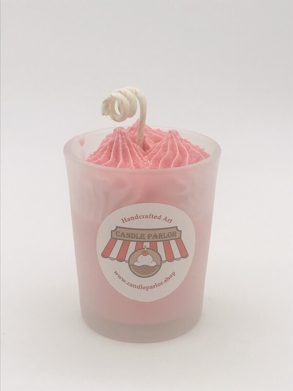 Strawberry Scented Votive Candle
