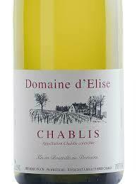 Domaine D'Elise Petit Chablis - Burgundy, France (3670)