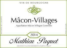 Mathieu Paquet Macon Villages 2018 - Macon, Burgundy, France (21576)