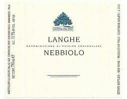 Cantina del Pino Langhe Nebbiolo 2018 - Piedmont Italy (4713)