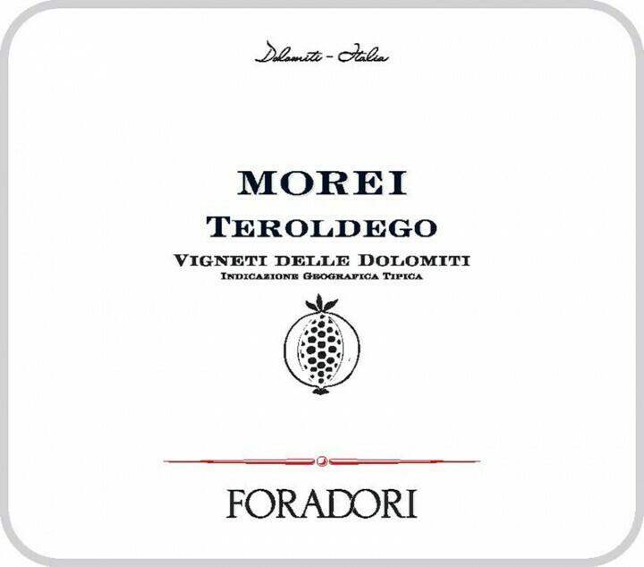 Foradori Teroldego Morei 2017 (9511)